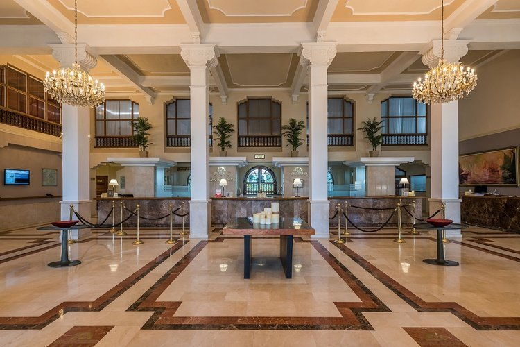 Lobby hotel caribe by faranda grand cartagena