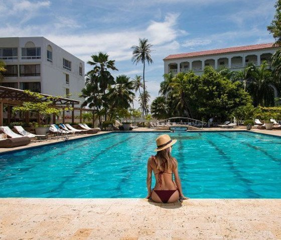 Piscinas hotel caribe by faranda grand cartagena